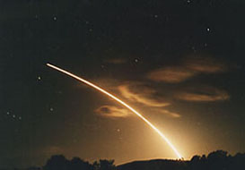 Rocket Launches From Vandenberg AFB, CA